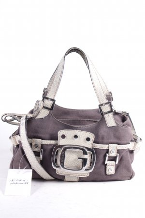 Guess Crossbody bag grey brown-oatmeal '90s style