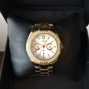 Guess (USA) Gold Watch