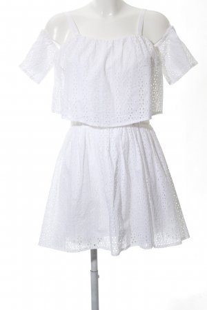 Guess Flounce Dress white casual look