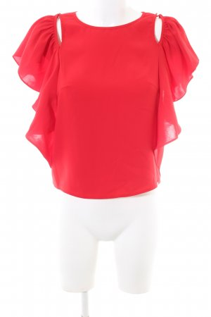 Guess Flounce Top red casual look