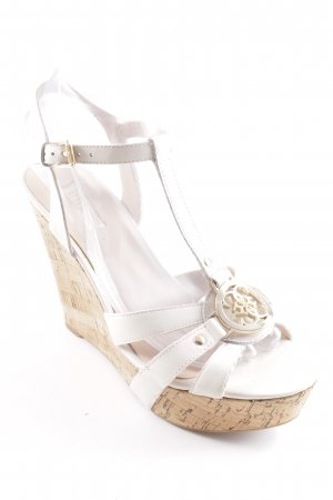 Guess Wedges Sandaletten mehrfarbig Casual-Look