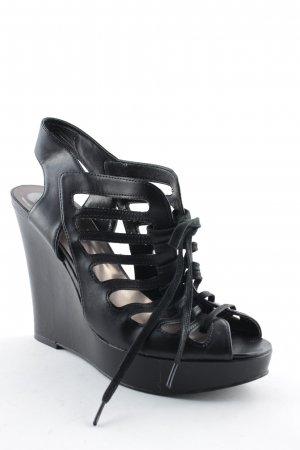 Guess Wedge Sandals black party style