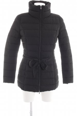 Guess Winter Jacket black quilting pattern casual look