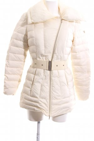 Guess Winter Jacket natural white quilting pattern casual look