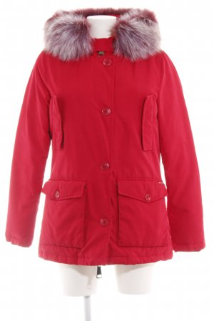 Guess Winter Jacket red casual look