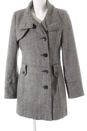 Guess Abrigo de invierno blanco puro-negro moteado look casual