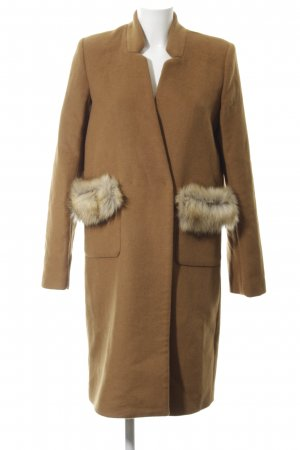 Guess Abrigo de lana marrón claro elegante