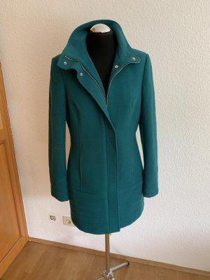 Guess Abrigo de lana azul cadete