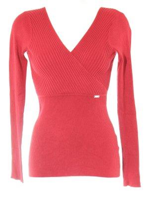 Guess Wollpullover rot klassischer Stil