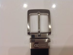 Guess Jeans Reversible Belt brown red