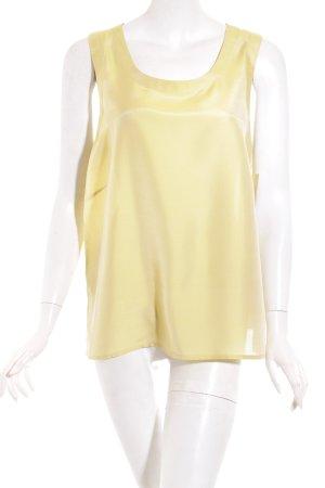 Guido Boehler Basic Top lime yellow minimalist style