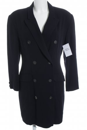 Guido Boehler Coat Dress dark blue elegant