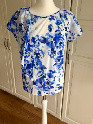 Guido Maria Kretschmer Collection 38 Bluse blau Blumen