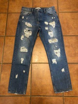 Guido Maria Kretschmer Destroyed Boyfriend Jeans
