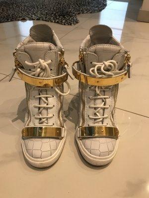 Giuseppe Zanotti Boots white leather