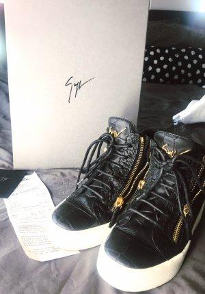 Giuseppe Zanotti Zapatillas altas negro