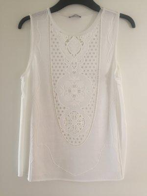 Gummiertes Shirt von Zara