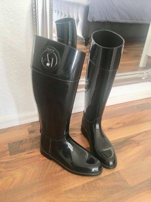 Armani Jeans Wellies black