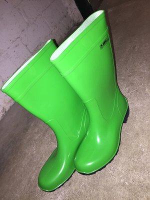 Wellington laarzen neon groen