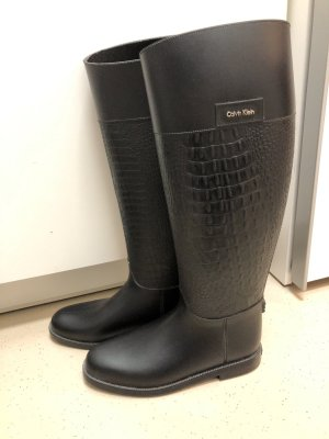 Calvin Klein Wellington laarzen zwart
