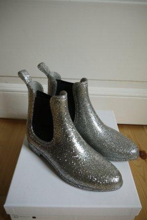 Asos Chelsea laarzen zilver