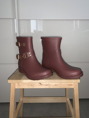 Colors of California Wellies bordeaux-brown red