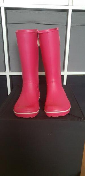 Crocs Botas de agua rojo frambuesa