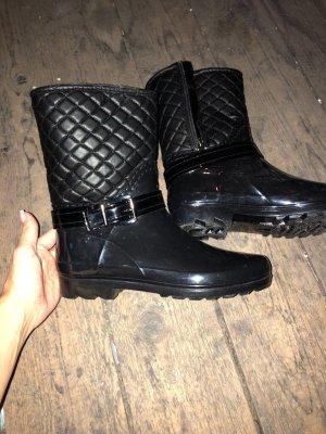 Botas de agua negro