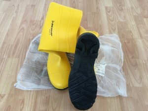 Dunlop Wellies yellow-black