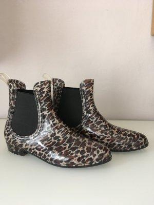 Gummistiefel Leopardenmuster