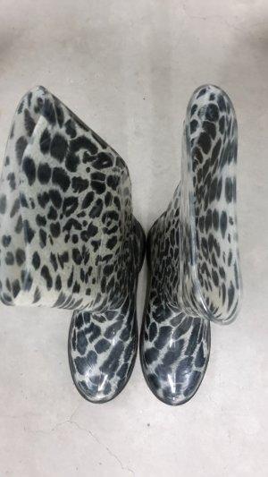 Gummistiefel- Leopardmuster