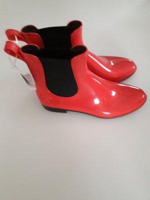 Wellington laarzen rood
