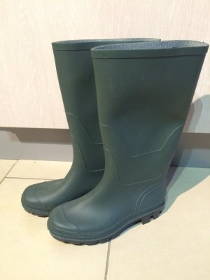 Wellies khaki synthetic material