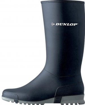 Dunlop Botas de agua azul oscuro