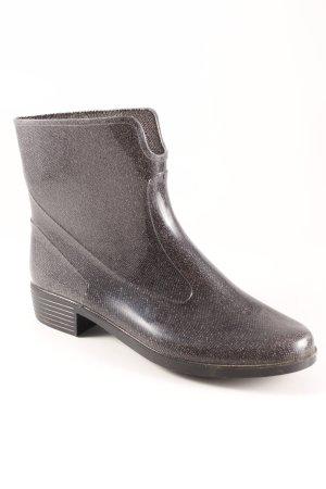 Gummistiefel schwarz-grau Casual-Look