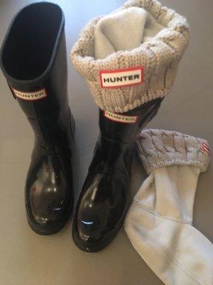 Gummistiefel Stiefeletten von Hunter mit Fleece