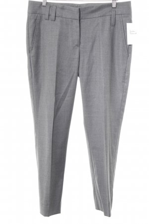 Gunex Bundfaltenhose grau meliert Business-Look