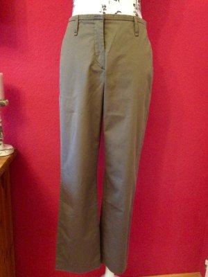 Gunex gerade geschnittene khakifarbene Hose