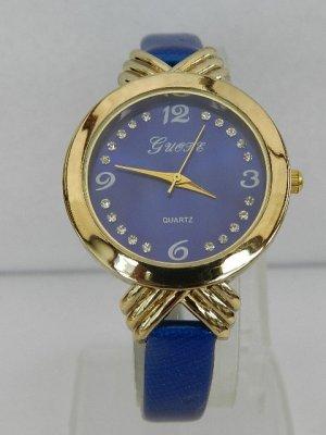 Guote Damenuhr blau, exquisite Quarzuhr – 3ATM - Analog - NEU