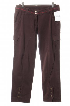 Guru Pantalón de camuflaje marrón oscuro look casual