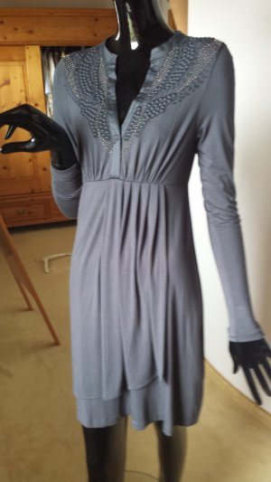 GUSTAV, elegantes graues Kleid, Gr.36, NEU