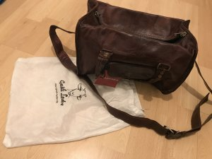 Carry Bag dark brown-forest green