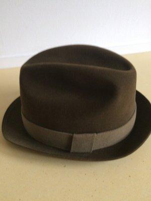Rockel Vilten hoed zwart bruin