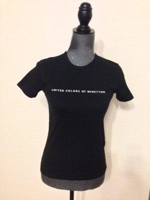 gut erhaltenes schwarzes Shirt von Benetton