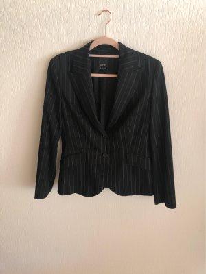 esprit collection Blazer de esmoquin negro-blanco