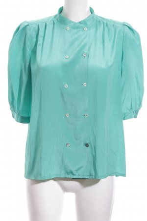 Guy Laroche Splendor Blouse turquoise casual look