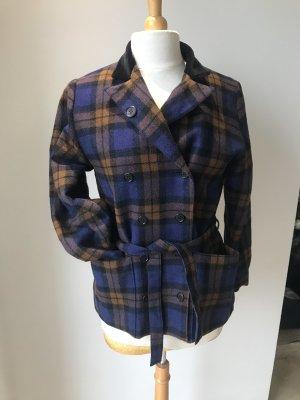 Guy Laroche Giacca di lana blu scuro-marrone