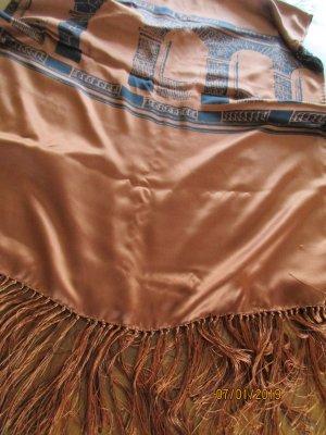 Guy Laroche Silk Scarf brown-black