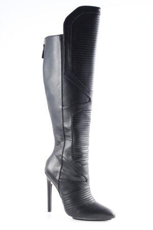 Gwen Stefani Botas sobre la rodilla negro Estilo ciclista