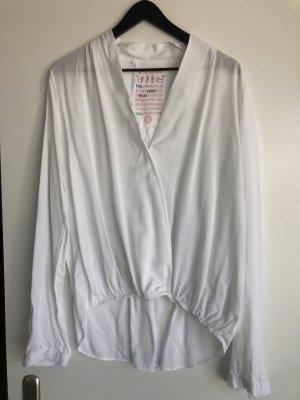 Gwynedds Bluse Viscose in weiß